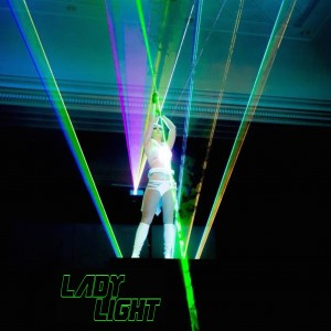 Lady Light Lasegirl - Laser Light Show in Las Vegas, Nevada