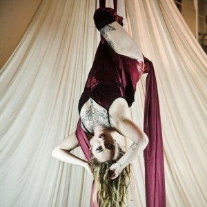 Lady Napalm - Aerialist in Emeryville, California