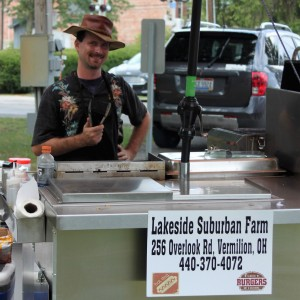 Lakeside Suburban Farm Food Cart