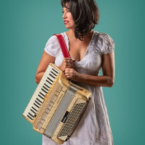 "L.A.'s Accordion Diva, ""Gee"" Rabe"