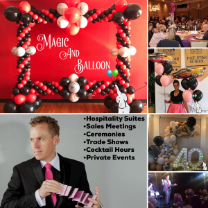 Magic And Balloon - Corporate Magician in Las Vegas, Nevada