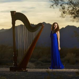 Emily Montoya Barnes - Harpist in Reno, Nevada