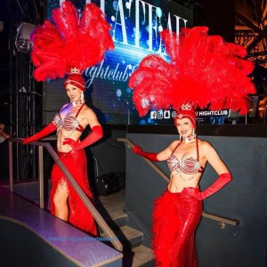 Las Vegas Showgirls For Hire - Burlesque Entertainment in Las Vegas, Nevada