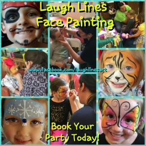 Laugh Lines Face Paint, Art & More - Face Painter / Outdoor Party Entertainment in Elizabethton, Tennessee