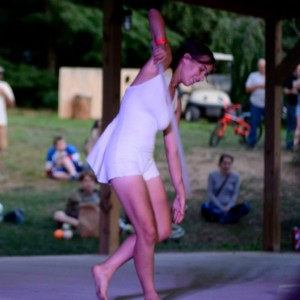 Laura Torraco Performance Art - Hoop Dancer in Amherst, Massachusetts