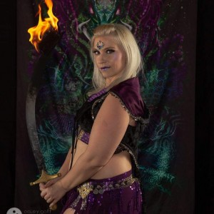 Kaylah Zuli - Fire Dancer in Austin, Texas