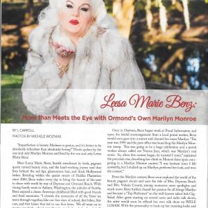 Leesa Marie Benz - Marilyn Monroe Impersonator in Ormond Beach, Florida