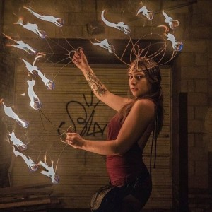 Leo Goddess - Fire Dancer in Milwaukee, Wisconsin