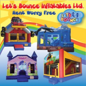 Let's Bounce Inflatables Ltd. - Party Inflatables / Face Painter in Vancouver, British Columbia
