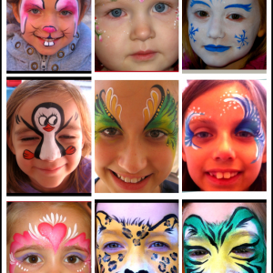Let's Face It Fantasy Faces - Face Painter in Fort Worth, Texas