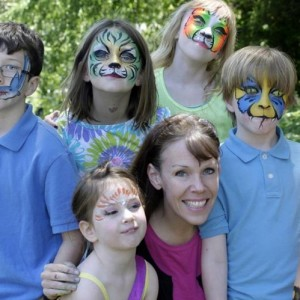 Let's Make a Face - Face Painting - Face Painter / Airbrush Artist in Alexandria, Virginia
