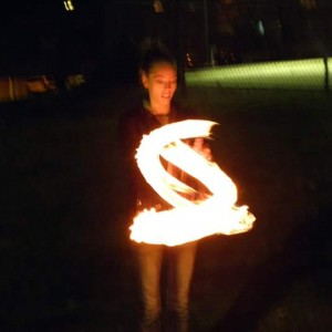 Light the night - Fire Performer in Floral Park, New York