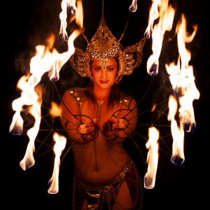 Lilith Wings (fire dancer) - Fire Performer / Burlesque Entertainment in Montreal, Quebec