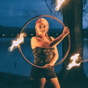 Lilla VanHouten Performance Art - Fire Performer in Boulder, Colorado