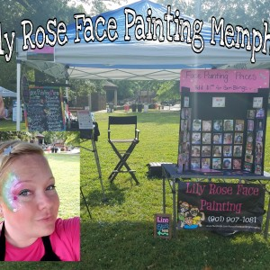 Lily Rose Face Painting - Face Painter / Outdoor Party Entertainment in Memphis, Tennessee