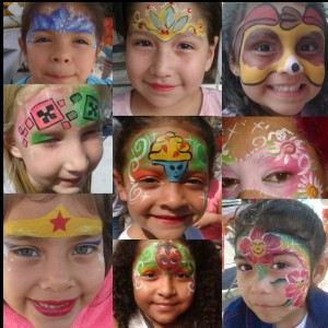 Lily Silly Face face painting - Face Painter in Los Angeles, California