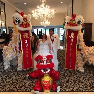 White Lotus Dragon and Lion Dance