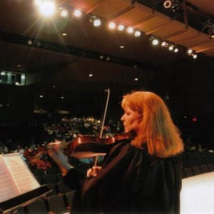 Lisa Dicus - Violinist in Little Rock, Arkansas