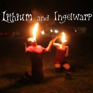 Lithium & Ingelwarp - Fire Performer in Atchison, Kansas