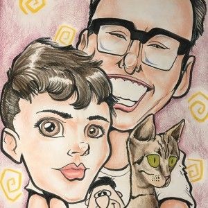 Live Caricatures by Jared - Caricaturist / College Entertainment in Raleigh, North Carolina