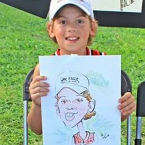Live party caricatures - Caricaturist in Cincinnati, Ohio