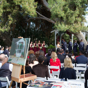 Live Wedding Art - Fine Artist in Carlsbad, California