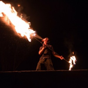 Loki Detroit's Dragon - Fire Performer / Stilt Walker in Redford, Michigan