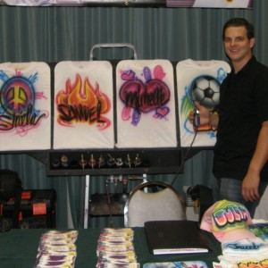 Long Island Airbrush Favors - Airbrush Artist in Copiague, New York