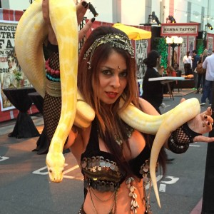 Los Angeles Belly Dancer Snake Charmer Katia