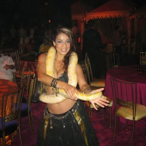 Los Angeles Snake Belly Dancer Katia - Belly Dancer / Illusionist in Los Angeles, California