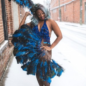 Lottie Ellington - Burlesque Entertainment in Detroit, Michigan