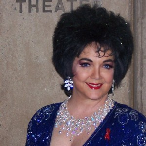 Louise Gallagher as Elizabeth Taylor - Elizabeth Taylor Impersonator / Actress in San Diego, California