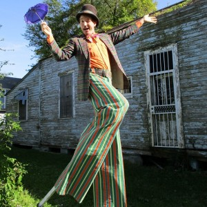 Luke Brechtelsbauer - Stilt Walker / Outdoor Party Entertainment in New Orleans, Louisiana