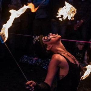 Luminous  - Fire Performer in Dover, New Hampshire