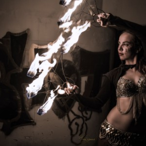 Lumo Sync - Fire Performer in Miami, Florida