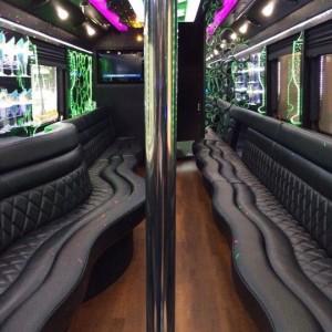 Luxury Limo Bus!