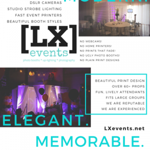 LX events | Modern. Elegant. Memorable. - Photo Booths in Ontario, California