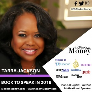 Madam Money - Motivational Speaker in Atlanta, Georgia