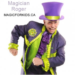 Magic for kids - Children's Party Magician in Montreal, Quebec