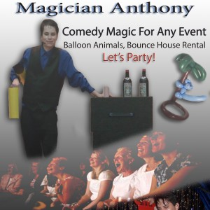 Magician Anthony - Magician in Racine, Wisconsin