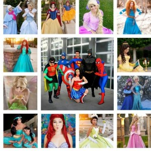 Magic Party Characters LA