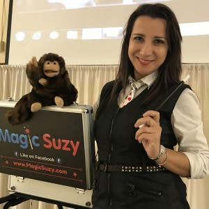 Magic Suzy - Kids Magician - Strolling/Close-up Magician / Halloween Party Entertainment in Tampa, Florida
