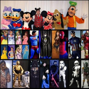 Magical Hollywood Moments - Costumed Character / Superhero Party in San Diego, California