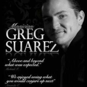 Magician Greg Suarez