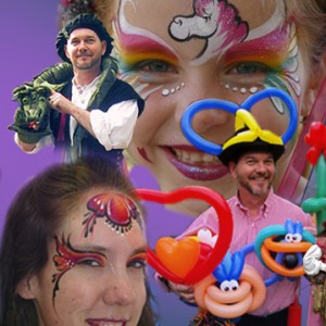 Magickal Entertainment - Face Painter / Balloon Twister in Santa Clara, California