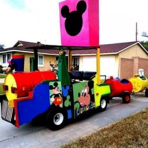 Magnificent trackless train - Event Planner / Carnival Rides Company in Irvine, California