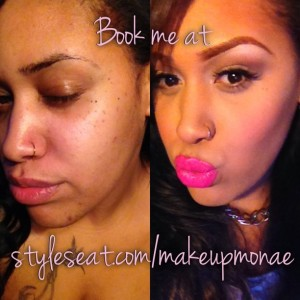 Makeup Monae - Makeup Artist in Long Beach, California