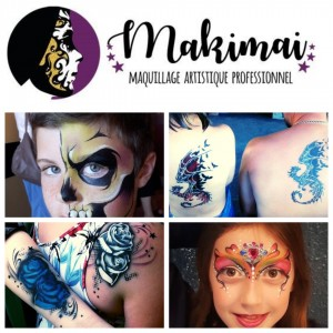 Makimai - Face Painter / Outdoor Party Entertainment in Ottawa, Ontario