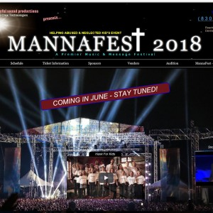 MannaFest 2018 - Event Planner in Moore, Texas