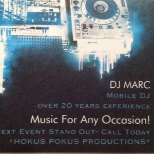 Marc The DJ - DJ in Smithtown, New York